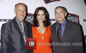 Katharine Mcphee, Craig Zadan and The Hudson Theatre