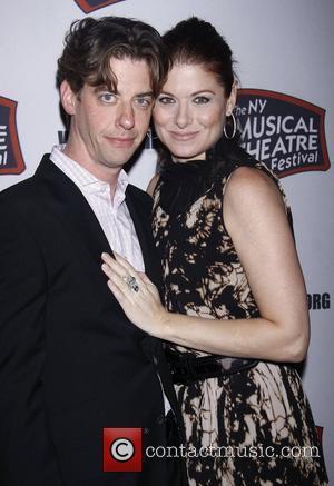 Christian Borle, Debra Messing and The Hudson Theatre