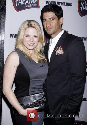Megan Hilty, Raza Jaffrey and The Hudson Theatre
