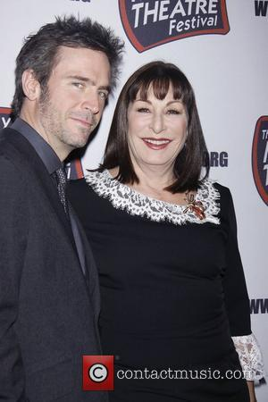 Jack Davenport and Anjelica Huston  The New York Musical Theatre Festival's Eighth Season Awards Gala at the Hudson Theatre...
