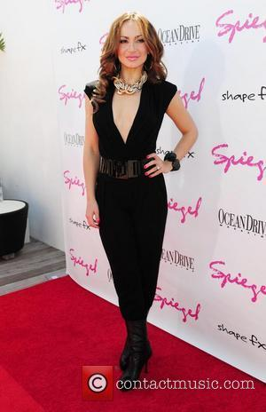 Karina Smirnoff Ocean Drive Magazine party held at the Gansevoort Hotel Rooftop  Miami, Florida - 13.03.11