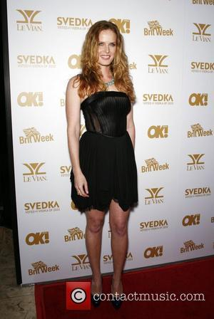 Rebecca Mader OK! Magazine And BritWeek Celebrate The Oscars at The London Hotel  West Hollywood, California - 25.02.11