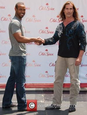 Old Spice Nemeses Fabio and Isaiah Mustafa appear for a special promotional appearance at The Grove Los Angeles, California -...