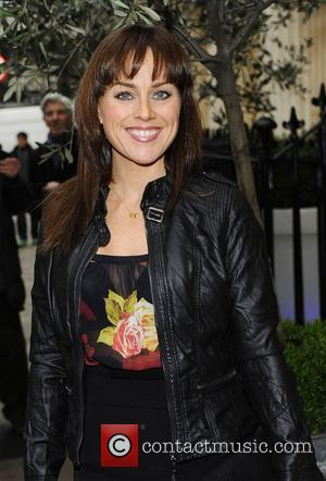 Jill Halfpenny The Laurence Olivier Awards Nominees Lunch at Haymarket Hotel  London, England - 22.02.11