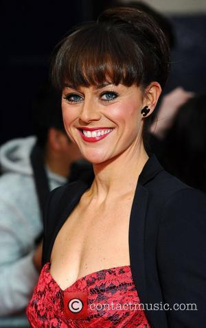 Jill Halfpenny  ,  at the 2011 Olivier Awards at the Theatre Royal - Arrivals London, England- 13.03.11