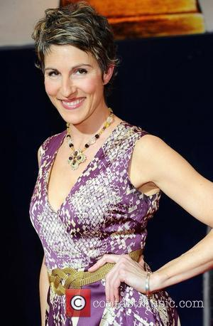 Tamsin Greig  ,  at the 2011 Olivier Awards at the Theatre Royal - Arrivals London, England- 13.03.11