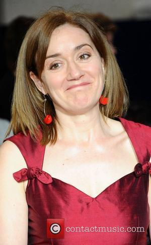 Sophie Thompson   ,  at the 2011 Olivier Awards at the Theatre Royal - Arrivals London, England- 13.03.11