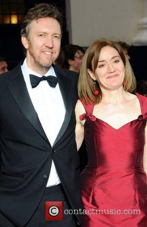 Richard Lumsden; Sophie Thompson   ,  at the 2011 Olivier Awards at the Theatre Royal - Arrivals London,...