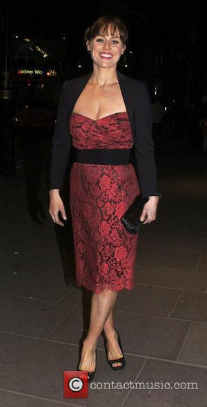 Jill Halfpenny ,  at the 2011 Olivier Awards - After Party at the Waldorf Hotel - Departures London, England-...