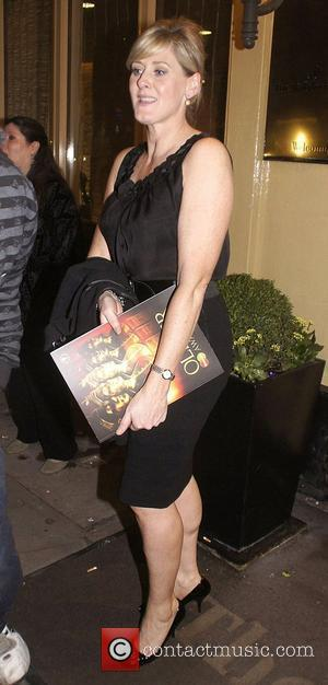 Sarah Lancashire ,  at the 2011 Olivier Awards - After Party at the Waldorf Hotel - Departures London, England-...