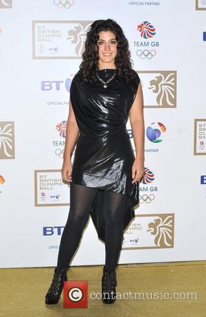 Katie Melua BT Olympic Ball held at Olympia - Arrivals. London, England - 07.10.11