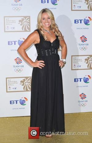 Chemmy Alcott BT Olympic Ball held at Olympia - Arrivals. London, England - 07.10.11