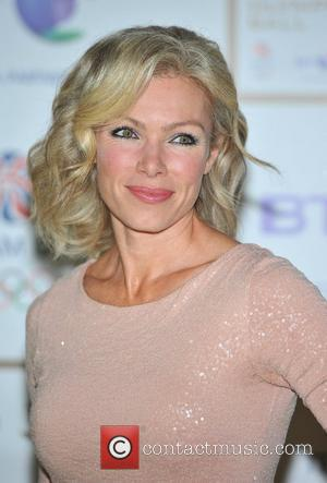 Nell McAndrew BT Olympic Ball held at Olympia - Arrivals. London, England - 07.10.11