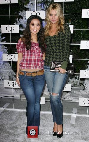 Brenda Song and Aly Michalka
