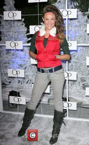 Lauren Mayhew OP Celebrates Winter Wonderland held at Siren Studios Los Angeles, California - 16.11.11