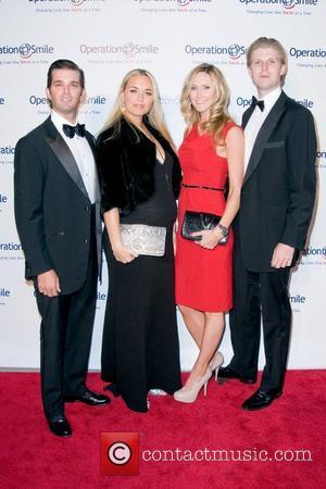 Donald Trump Jr., Vanessa Trump, guest, Eric Trump The 8th annual Operation Smile event, honouring Santo Versace - Arrivals New...