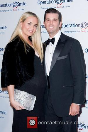 Vanessa Trump, Donald Trump Jr  The 8th annual Operation Smile event, honouring Santo Versace - Arrivals New York City,...