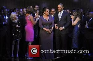 Kristin Chenoweth, Gayle King, Maria Shriver, Oprah Winfrey and Tyler Perry