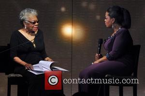 Maya Angelou and Oprah Winfrey