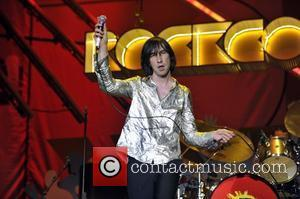 Bobby Gillespie of Primal Scream performs at the Orange Rockcorps show, held at Wembley Arena London, England - 12.07.11