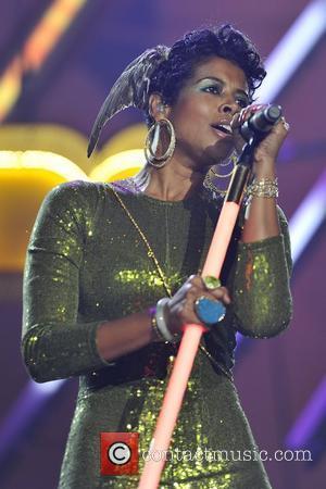 Kelis aka Kelis Rogers performs at the Orange Rockcorps show, held at Wembley Arena London, England - 12.07.11