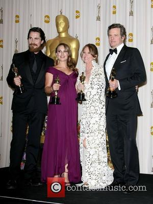 Christian Bale, Colin Firth, Melissa Leo, Natalie Portman and Academy Of Motion Pictures And Sciences