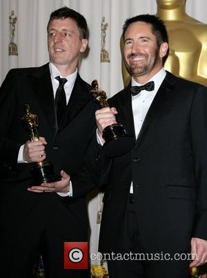 Atticus Ross and Trent Reznor 83rd Annual Academy Awards (Oscars) held at the Kodak Theatre - Press Room Los Angeles,...