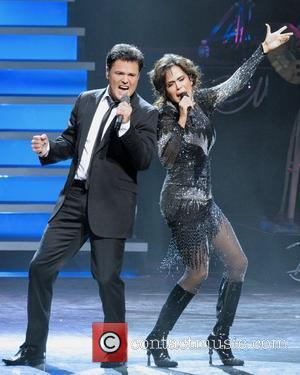 Donny Osmond and Marie Osmond  'Donny & Marie Live' at the Four Seasons Centre For Performing Arts.  Toronto,...