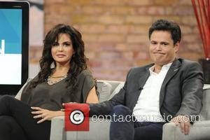 Marie Osmond and Donny Osmond  appearing on CTV's 'Marilyn Denis Show'  Toronto, Canada - 12.07.11