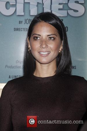 Olivia Munn and The Booth Theatre