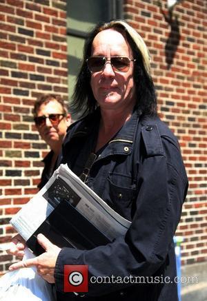 Todd Rundgren outside The Ed Sullivan Theater for 'The David Letterman Show'  New York City, USA – 15.06.11