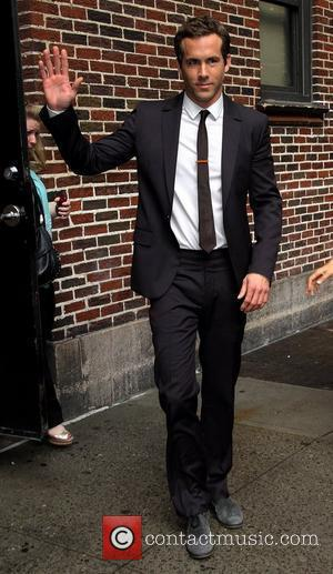 Ryan Reynolds Celebrities outside The Ed Sullivan Theater for 'The David Letterman Show'  New York City, USA – 14.06.11