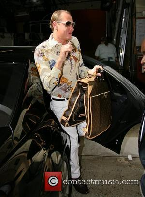 Carson Kressley  arriving at ABC studios for the 'Live with Regis and Kelly' show  New York City, USA...