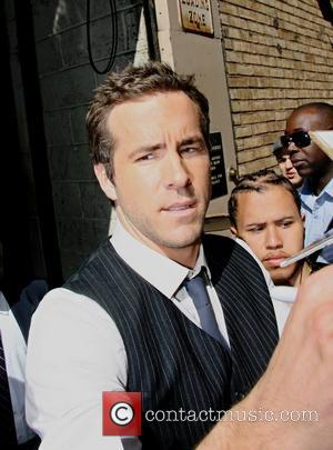 Ryan Reynolds leaving ABC studios after appearing on the 'Live with Regis and Kelly' show  New York City, USA...