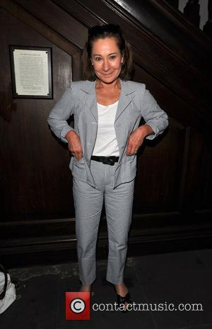 Zoe Wanamaker Memorial Service for Pam Gems held at Saint James Church, Piccadilly. London, England - 03.07.11