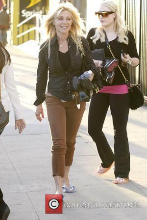 Hayley Hasselhoff and Pamela Bach leaving Pampered Hands after getting their nails done Los Angeles, California - 08.03.11