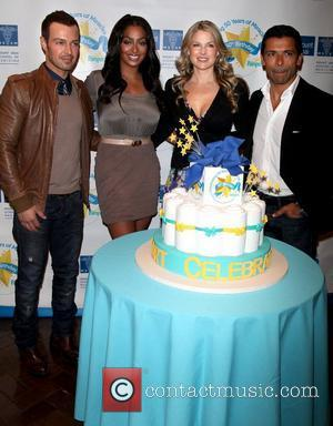 Joey Lawrence, LaLa Vazquez, Ali Larter and Mark Consuelos Pampers partners with celebrity parents to kick off 'Little Miracle Missions'...