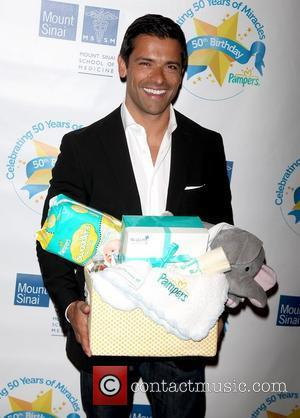 Mark Consuelos Pampers partners with celebrity parents to kick off 'Little Miracle Missions' held at The Mount Sinai Medical Center...