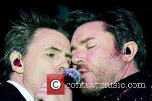 John Taylor and Simon Le Bon of Duran Duran 2011 Paper Magazine Beautiful People Party at Good Units New York...