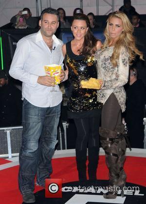 Dane Bowers, Katie Price, Michelle Heaton and Elstree Studio