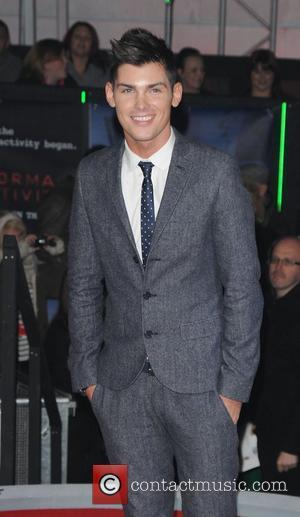 Kieron Richardson,  at the UK premiere of Paranormal Activity 3 held at Elstree Studios - Red Carpet London, England...