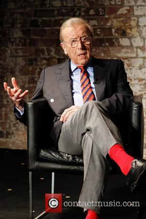 Sir David Frost at a media conference at the Sydney Theatre Company. Sydney, Australia - 01.02.11