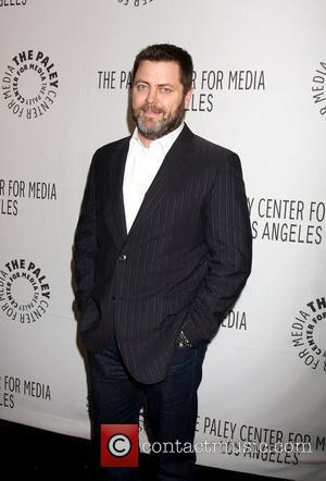 Nick Offerman Paleyfest 2011 presents 'Parks and Recreation' at the Saban Theatre Beverly Hills, California - 09.03.11