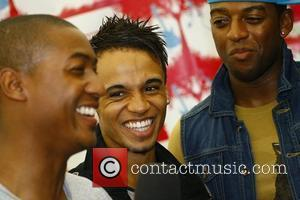 Aston Merrygold of JLS Party in the Park - backstage Leeds, England - 31.07.11