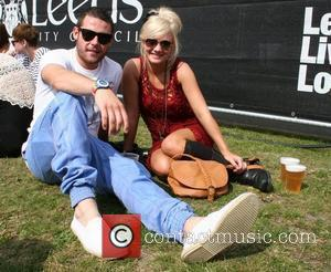 Danny Miller and girlfriend Party in the Park - backstage Leeds, England - 31.07.11