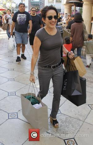 Patricia Heaton out shopping at The Grove Los Angeles, California, USA - 15.10.11