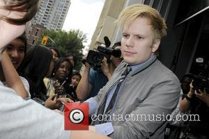 Patrick Stump  appearances on Much Music's New.Music.Live promoting his upcoming solo album 'Soul Punk'.  Toronto, Canada - 09.08.11