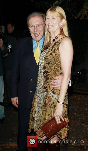 Sir David Frost and Carina Frost,  at Paul McCartney and Nancy Shevell's Reception Party held at their home -...