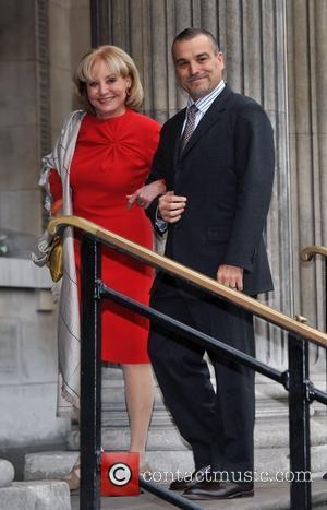 Barbara Walters and guest The wedding of Sir Paul McCartney and Nancy Shevell held at Marylebone Town Hall London, England...