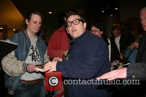 Nick Frost 'PAUL' film presentation at the Pathe De Munt theatre in Amsterdam Amsterdam, Holland - 23.03.11